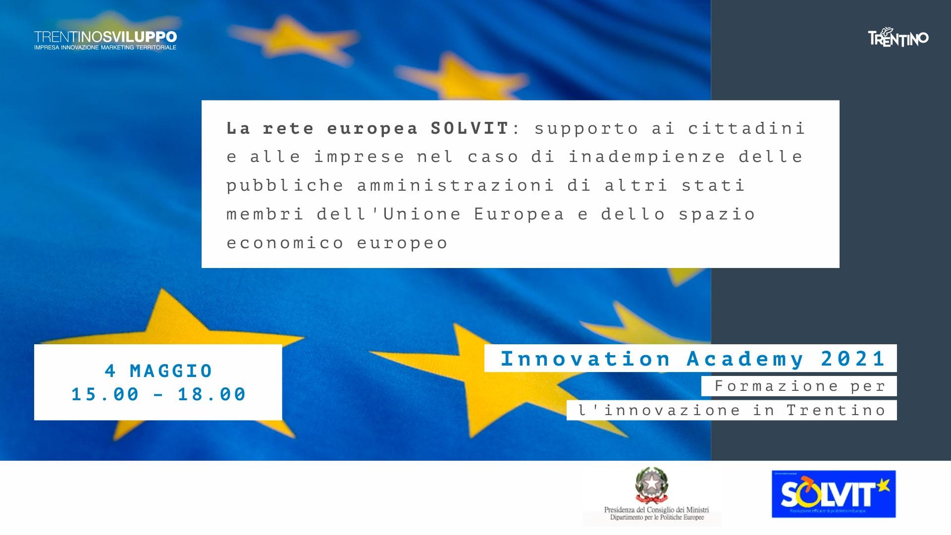 La rete europea SOLVIT